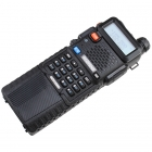 Рация Baofeng UV-5R Black + Усиленный аккумулятор BL-5L, 3800 мАч, Black