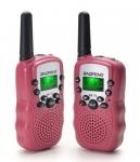 Рация Baofeng MiNi BF-T3 PMR446 Pink