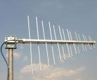 Логопериодическая антенна 110-520 Мгц
